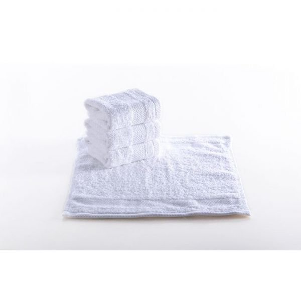 Dobby Border Wash Cloth