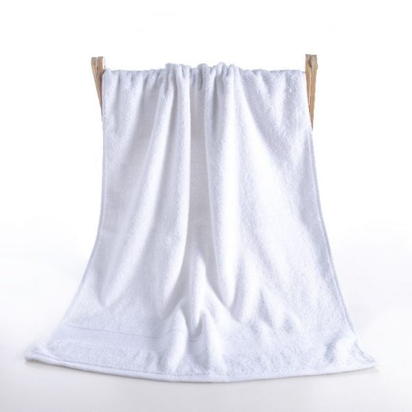 Dobby Border Bath Towel 17