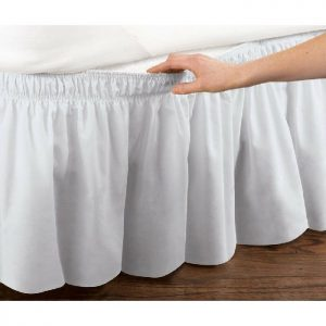 Queen Ruffled Bed Skirt