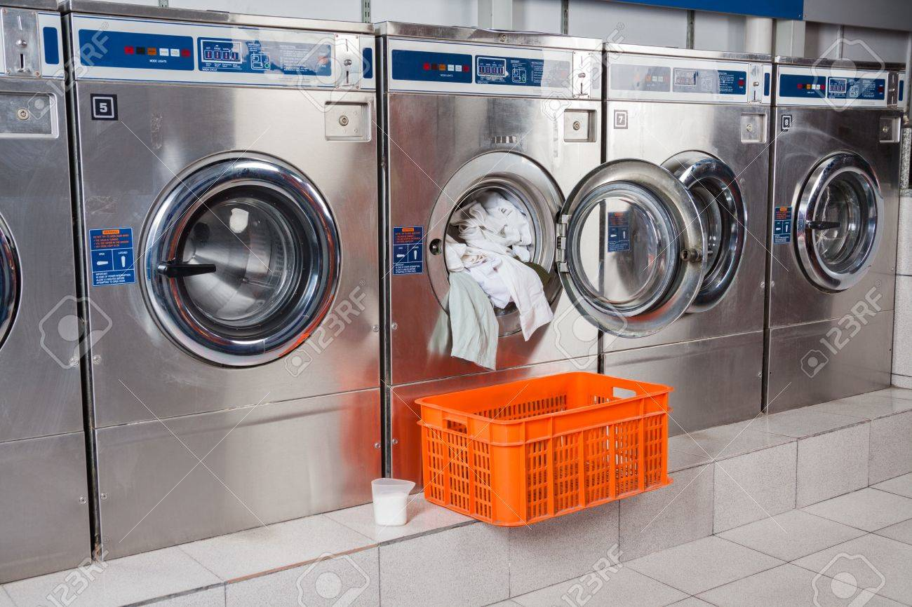 overloaded washing machine